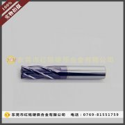2.5*50涂层4刃55度超硬钨钢立铣刀,钨钢面铣刀